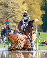 GBR-Abigail Boulton rides Tilston Tic Toc during the Advanced Cross Country. 2019 GBR-Dodson and Horrell Chatsworth International Horse Trial. Saturday 11 May. Copyright Photo: Libby Law Photography