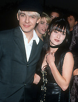 Nick Rhodes, Shannen Doherty, 1992, Photo By Michael Ferguson/PHOTOlink
