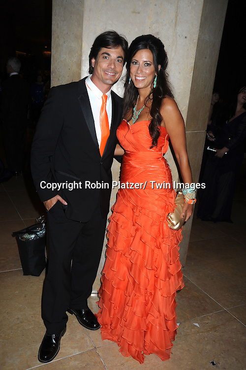 Brian Datillo and wife Liz attend the  39th Annual Daytime Emmy Awards after party  on June 23, 2012 at the Beverly Hilton in Beverly Hills, California. The awards were broadcast on HLN.