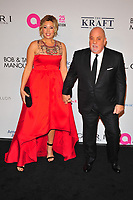 NEW YOKR, NY - NOVEMBER 7: Alexis Roderick and Billy Joel at The Elton John AIDS Foundation's Annual Fall Gala at the Cathedral of St. John the Divine on November 7, 2017 in New York City. Credit:John Palmer/MediaPunch /NortePhoto.com