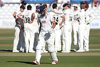 Alastair Cook of Essex leaves the field having been dismissed for 96 during Essex CCC vs Somerset CCC, Specsavers County Championship Division 1 Cricket at The Cloudfm County Ground on 25th June 2018