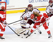 Louise Warren (BU - 28), Megan Miller (BC - 32), Lexi Bender (BC - 21), Dakota Woodworth (BU - 11), Dru Burns (BC - 7) - The Boston College Eagles tied the visiting Boston University Terriers 5-5 on Saturday, November 3, 2012, at Kelley Rink in Conte Forum in Chestnut Hill, Massachusetts.