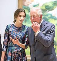 Prince Charles at Sorolla Spanish Master of Light at the National Gallery