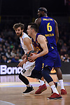 Turkish Airlines Euroleague 2018/2019. <br /> Regular Season-Round 16.<br /> FC Barcelona Lassa vs Darussafaka Tekfen Istanbul: 97-65.<br /> Thomas Heurtel.