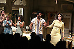 Matthew Saldivar, Amelia Campbell, Daphne Rubin-Vega, Blair Underwood, Nicole Ari Parker.during the Broadway Opening Night Curtain Call for 'A Streetcar Named Desire' on 4/22/2012 at the Broadhurst Theatre in New York City.