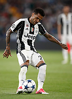 Football Soccer: UEFA Champions League semifinal second leg Juventus - Monaco, Juventus stadium, Turin, Italy,  May 9, 2017. <br /> Juventus' Dani Alves in action during the Uefa Champions League football match between Juventus and Monaco at Juventus stadium, on May 9, 2017.<br /> UPDATE IMAGES PRESS/Isabella Bonotto