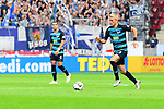 Herthas Per Skjelbred am Ball<br />  beim Spiel in der Fussball Bundesliga, 1. FSV Mainz 05 - Hertha BSC.<br /> <br /> Foto &copy; PIX-Sportfotos *** Foto ist honorarpflichtig! *** Auf Anfrage in hoeherer Qualitaet/Aufloesung. Belegexemplar erbeten. Veroeffentlichung ausschliesslich fuer journalistisch-publizistische Zwecke. For editorial use only.
