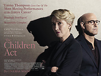 THE CHILDREN ACT (2017)<br /> BRITISH POSTER<br /> *Filmstill - Editorial Use Only*<br /> CAP/FB<br /> Image supplied by Capital Pictures