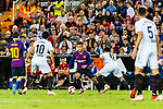 Philippe Coutinho of FC Barcelona (C) in action during their La Liga 2018-19 match between Valencia CF and FC Barcelona at Estadio de Mestalla on October 07 2018 in Valencia, Spain. Photo by Maria Jose Segovia Carmona / Power Sport Images