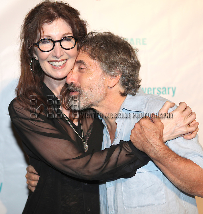 Joanna Gleason & Chip Zien attending the Opening Night Performance After Party for  The Public Theater's 'Into The Woods' at the Delacorte Theater in New York City on 8/9/2012.