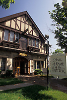 AJ3484, Hall of Fame of the Trotter, Goshen, New York, Harness Racing Museum and Hall of Fame is housed in a Tudor-style building in Goshen in the state of New York.