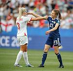 09.06.2019 England v Scotland Women: Alex Greenwood and Lizzie Arnott