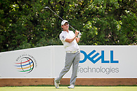 Emiliano Grillo (ARG) on the 18th during the 3rd round at the WGC Dell Technologies Matchplay championship, Austin Country Club, Austin, Texas, USA. 24/03/2017.<br /> Picture: Golffile | Fran Caffrey<br /> <br /> <br /> All photo usage must carry mandatory copyright credit (&copy; Golffile | Fran Caffrey)