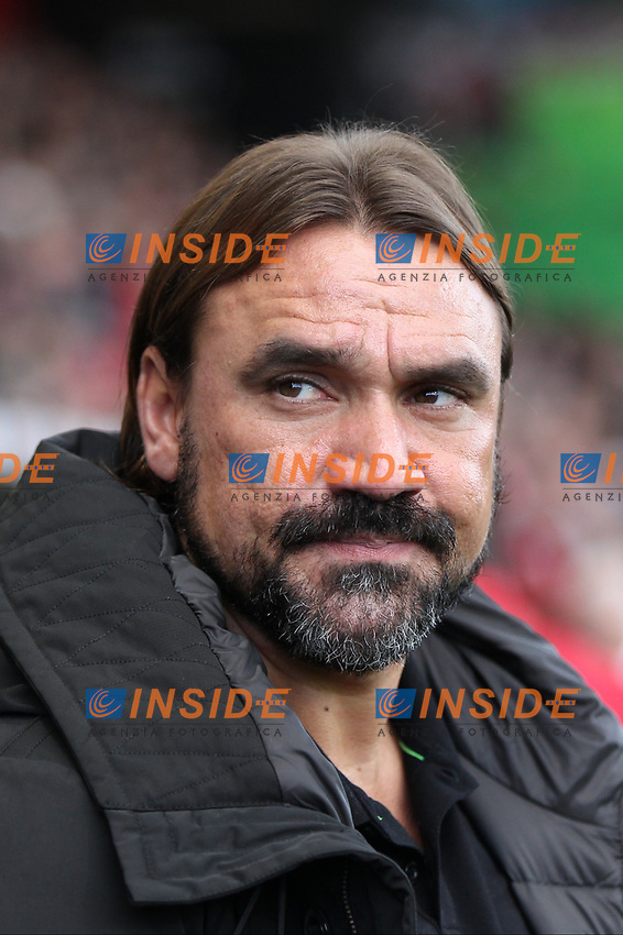 Norwich City managerDaniel Farke during the Premier League match between Bournemouth and Norwich City at Goldsands Stadium on October 19th 2019 in Bournemouth, England. (Photo by Mick Kearns/phcimages.com)<br /> Foto PHC/Insidefoto <br /> ITALY ONLY
