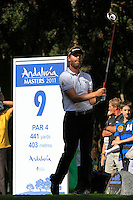 Raphael Jacquelin (FRA) during the final day of the  Andalucía Masters at Club de Golf Valderrama, Sotogrande, Spain. .Picture Denise Cleary www.golffile.ie