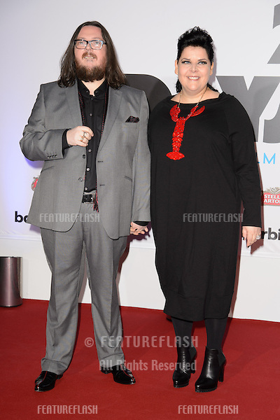 "Iain Forsyth and Jane Pollard arriving for the ""20,000 Days on Earth"" Gala Screening at the Barbican Centre, London. 17/09/2014 Picture by: Steve Vas / Featureflash"