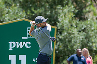 Andy Sullivan (ENG) on the 11th tee during the first round at the Nedbank Golf Challenge hosted by Gary Player,  Gary Player country Club, Sun City, Rustenburg, South Africa. 14/11/2019 <br /> Picture: Golffile | Tyrone Winfield<br /> <br /> <br /> All photo usage must carry mandatory copyright credit (© Golffile | Tyrone Winfield)
