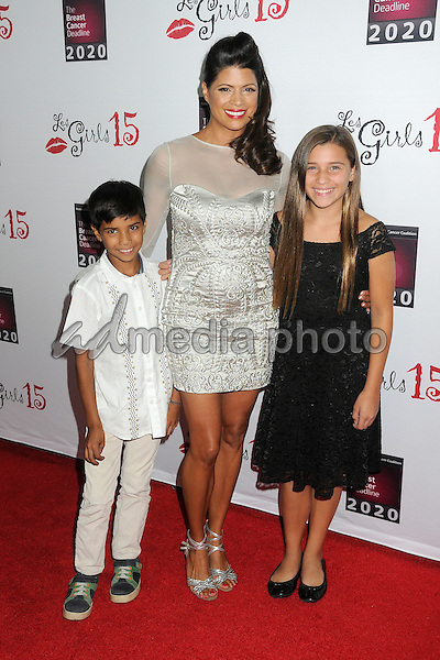 11 October 2015 - Hollywood, California - Andrea Navedo. 15th Annual Les Girls Cabaret held at Avalon. Photo Credit: Byron Purvis/AdMedia