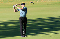 Nick O'Hern (AUS) in action on the 11th during Round 2 of the ISPS Handa World Super 6 Perth at Lake Karrinyup Country Club on the Friday 9th February 2018.<br /> Picture:  Thos Caffrey / www.golffile.ie<br /> <br /> All photo usage must carry mandatory copyright credit (&copy; Golffile   Thos Caffrey)