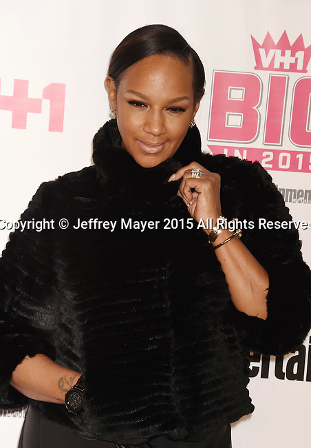 WEST HOLLYWOOD, CA - NOVEMBER 15: TV personality Jackie Christie attends VH1 Big In 2015 With Entertainment Weekly Awards at Pacific Design Center on November 15, 2015 in West Hollywood, California.