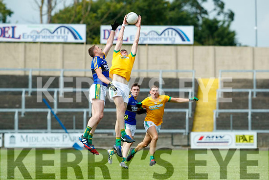 Brendan O'Sullivan Kerry in action against  Meath in the All Ireland Junior Football Final at O'Moore Park, Portlaoise on Saturday.