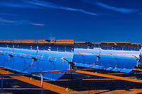 Solar Energy Generating Station in southern California, USA.