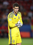 Spain's Kepa Arrizabalaga in action during the UEFA Under 21 Final at the Stadion Cracovia in Krakow. Picture date 30th June 2017. Picture credit should read: David Klein/Sportimage