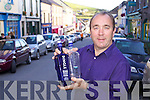Liam LaHart of Dingle Founding Fathers Distillery who will have Dingle Vodka and Gin on sale before Christmas.