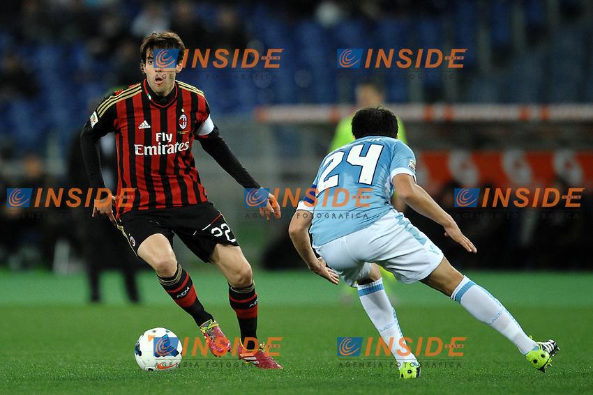 Ricardo Kaka Milan.<br /> Roma 23-03-2014 Stadio Olimpico. Football Calcio 2013/2014 Serie A. Lazio - Milan. Foto Antonietta Baldassarre / Insidefoto