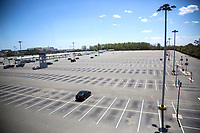 NEW YORK, NY - MAY 12: View of the John F. Kennedy International Airport parking lots on May 12, 2020 in New York, NY. (Photo by Pablo Monsalve / VIEWpress via Getty Images)