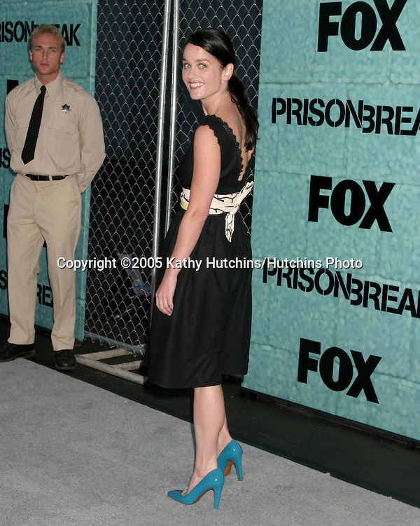 "Robin Tunney.""Veronica Donovan"".Prison Break Series Premiere Party.Santa Monica Airport, Hanger 8.Santa Monica, CA.August  22, 2005.©2005 Kathy Hutchins / Hutchins Photo"