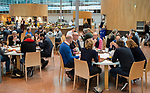 UTRECHT - lunch , Nationaal Hockey Congres van de KNHB, COPYRIGHT KOEN SUYK
