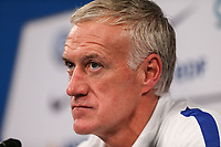 Didier Deschamps, head coach of France during French Press Conference at Clairefontaine-en-Yvelines, Paris, France  on 12 June 2017 ahead of France's friendly International game against England on 13 June 2017. Photo by David Horn/PRiME Media Images.