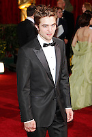 Robert Pattinson arrives at the 81st Annual Academy Awards held at the Kodak Theatre in Hollywood, Los Angeles, California on 22 February 2009