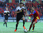 10.10.2015 Andorra. UEFA Europaen Championship Qualifying Round. Picture show Thomas Meunierin action during match Andorra v Belgium