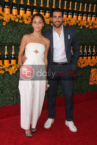 Cara Santana, Jesse Metcalfe<br /> at the Sixth-Annual Veuve Clicquot Polo Classic, Will Rogers State Historic Park, Pacific Palisades, CA 10-17-15<br /> David Edwards/Dailyceleb.com 818-249-4998