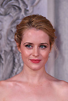 Claire Foy<br /> Premiere of The Crown, a new Netflix TV series about the reign of Queen Elizabeth II, at Odeon Leicester Square, London, England November 01, 2016.<br /> CAP/JOR<br /> &copy;JOR/Capital Pictures /MediaPunch ***NORTH AND SOUTH AMERICAS ONLY***