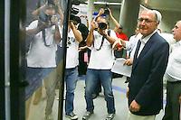SAO PAULO, SP, 12.02.2014 - INAUGURACAO ESTACAO ADOLFO PINHEIRO - O governador de Sao Paulo Geraldo Alckmin (PSDB) durante inauguracao da estacao Adolfo Pinheiro na regiao sul da cidade de Sao Paulo nesta quarta-feira, 12. (Foto: William Volcov / Brazil Photo Press).