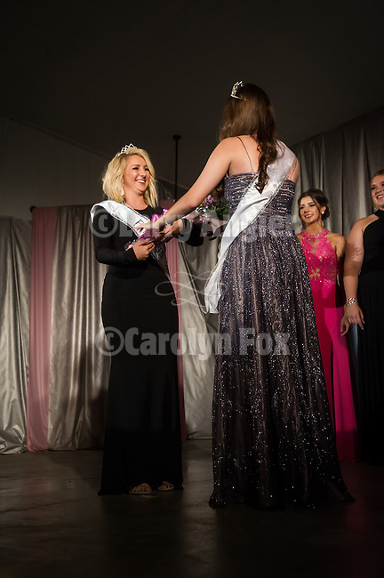 Opening day 78th Amador County Fair, Plymouth, Calif.<br /> <br /> Miss Amador Scholarship Pageant<br /> <br /> First runner up Kristina Woolsey is crowned