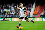 Antonio Latorre Grueso, Lato, of Valencia CF in action during the La Liga 2017-18 match between Valencia CF and Villarreal CF at Estadio de Mestalla on 23 December 2017 in Valencia, Spain. Photo by Maria Jose Segovia Carmona / Power Sport Images