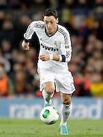 Real Madrid's Mesut Ozil during Copa del Rey - King's Cup semifinal second match.February 26,2013. (ALTERPHOTOS/Acero) /NortePhoto