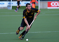 Rowan Yeo in action during the men's National Hockey League final between Harbour and Capital at National Hockey Stadium in Wellington, New Zealand on Sunday, 23 September 2018. Photo: Dave Lintott / lintottphoto.co.nz