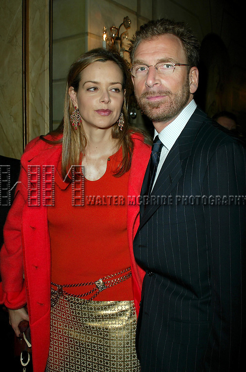 EDGAR BRONFMAN JR. and wife CLARISSA BRONFMAN.Attending The American Theatre Wing's Annual Luncheon at the Pierre Hotel, New York City..April 14, 2003.Credit All Uses.© Walter McBride / , USA.