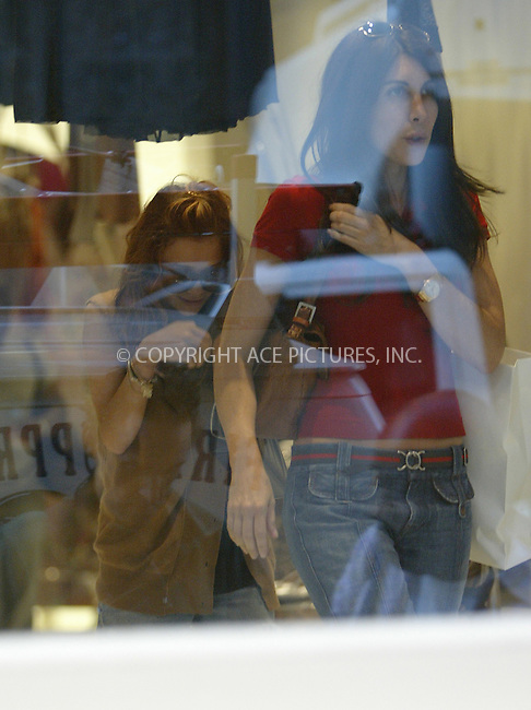 ** EXCLUSIVE ** FEE MUST BE AGREED BEFORE USE **..Mary-Kate Olsen and her personal assistant went on a shopping spree in Lower Manhattan. Olsen was very camera shy when she visited several boutiques around East Houston Street and later was seen trying on silver ballet shoes at Marnie Store in SoHo (BELOW IS A LINK TO AN ARTICLE ABOUT THE SOES http://www.newyorkmetro.com/content/04/wk34/bestbets_040818.htm). New York, August 23, 2004. Please byline: Alecsey Boldeskul -- ACEPIXS.COM.   .. *** ***  ..Ace Pictures, Inc  **  ..contact: Alecsey Boldeskul (646) 267-6913 **..Philip Vaughan (646) 769-0430 **..e-mail: info@acepixs.com
