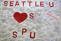Vigil for SPU - Moment of Silence