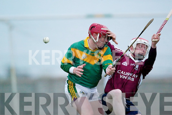 CREDIT UNION COUNTY SENIOR HURLING DIVISION 1  Causeway v Kilmoyleyin their senior hurling clash