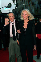 Beverly Hills, California - September 7, 2006.Robert Culp and Sivi Aberg arrive at the Los Angeles Premiere of  Hollywoodland held at the Samuel Goldwyn Theater..Photo by Nina Prommer/Milestone Photo