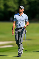 Rory McIlroy (NIR) on the 15th green during the 3rd round at the WGC HSBC Champions 2018, Sheshan Golf CLub, Shanghai, China. 27/10/2018.<br /> Picture Fran Caffrey / Golffile.ie<br /> <br /> All photo usage must carry mandatory copyright credit (&copy; Golffile | Fran Caffrey)
