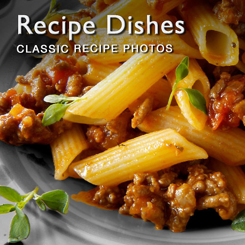 Food pictures & images of prepared classic recipe dishes