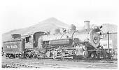 Right side view of K-37 #497.<br /> D&amp;RGW  Salida, CO  Taken by Winters, Charles E. - 7/4/1948